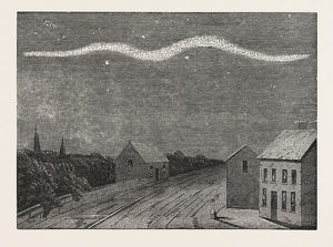 EXTRAORDINARY METEOR SEEN OVER DUBLIN, ON THE NIGHT OF SEPTEMBER 2, 1853
