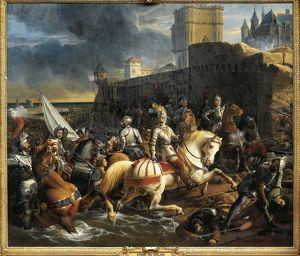France, Paris, The Capture of Calais by the Duke of Guise, 9th January 1558