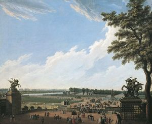 France, Paris, Champs-elysees by unknown artist, 1780
