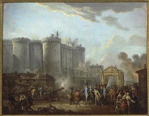 France, Vizille, The Arrest of the Governor of the Bastille, 14th July 1789