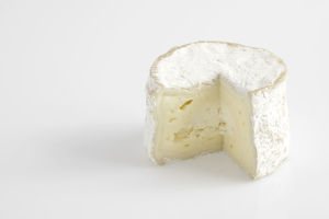 French Chaource AOC cow's milk cheese