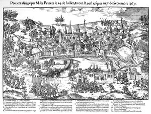 French Religious Wars 1562-1598. Siege of Poitiers 24 July-7 September 1569. Huguenots