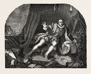 Garrick As Richard Iii. From Hogarth's Painting
