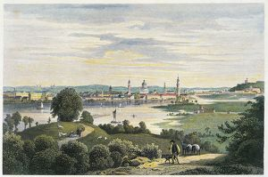 Germany, view of city of Potsdam.