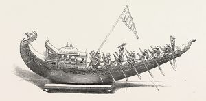 The Great Exhibition: Model Of An Indian Barge