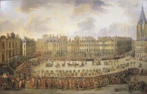 Great Procession in Lille by Francois Watteau, 1780