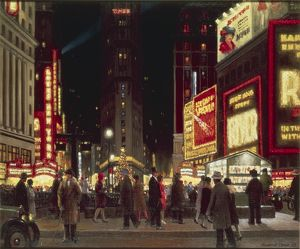 The Great White Way: Time Square and Theatre District in New York by Howard Thain