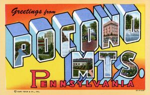 Greeting Card from the Pocono Mountains. ca