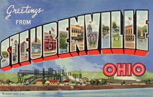 Greeting Card from Steubenville, Ohio. ca