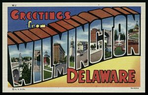 Greeting Card from Wilmington, Delaware. ca