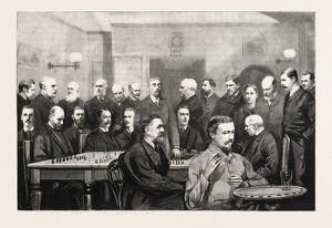 The International Chess Congress: Some Of The Chief Members Of The Liverpool Chess Club; Mr