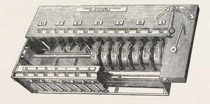 Israel Abraham Staffel's Calculating Machine