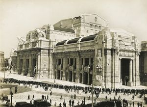Italy, Milan, Central Train Station, 1931
