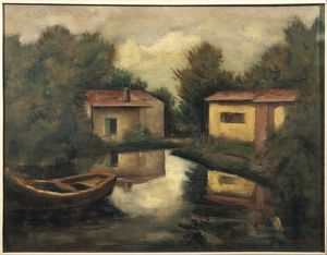 Italy, Rustic Landscape, 1927