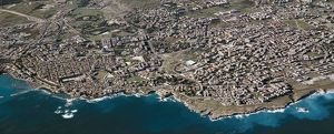 Italy, Sicily Region, Aerial view of Syracuse