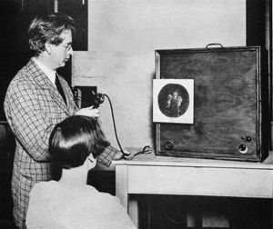 John Logie Baird (1888-1946) Scottish electrical engineer: pioneer of television