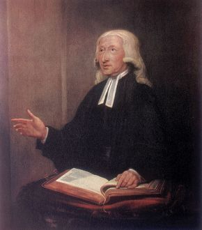 John Wesley (1703-1791) English non-conformist preacher. Founder of Methodism. After