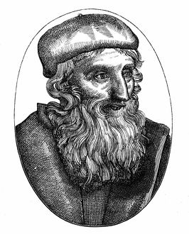 John Wycliffe (c1329-1384) English religious reformer. Leader of the Lollards (Mumblers)