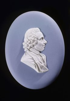 Joseph Priestley (1733-1804) English chemist and Presbyterian minister. From a Wedgwood