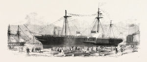 Launch Of The 'demerara' Royal Mail Steamship