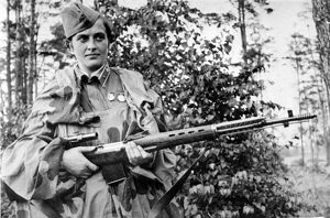 Lyudmila pavlichenko, famous 26 year old russian guerrilla sniper who has killed 309 germans