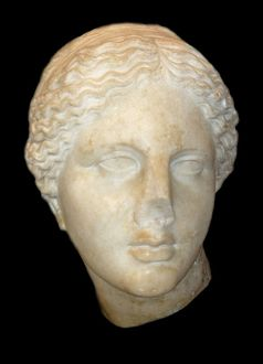 Marble Head of the Goddess Aphrodite 1230 B.C