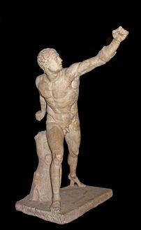Marble Statue of Borghese Gladiator 100 B.C.