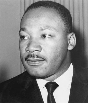 Martin Luther King Jnr (1929-68).