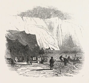 MEETING OF THE BRITISH ASSOCIATION AT SOUTHAMPTON: ALUM BAY, ISLE OF WIGHT, THE GEOLOGISTS