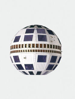 Model of television satellite
