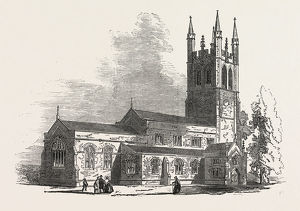 NEW CHURCH OF ANGELL-TOWN, NORTH BRIXTON, 1853