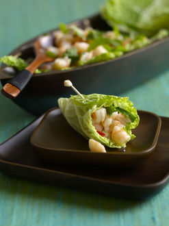 North-eastern Thai shrimp salad