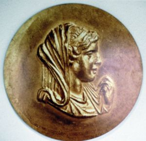 Olympias (d316 BC) queen of Macedon, wife of Philip II, mother of Alexander the Great