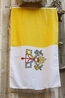 Pope's banner