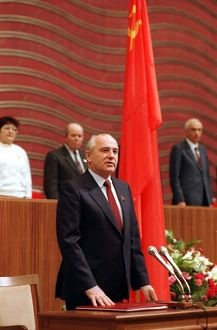 President Michael Gorbachev of USSR, In 1991