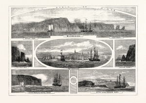 PROGRESS OF THE PRINCE OF WALES IN BRITISH NORTH AMERICA, VIEWS ILLUSTRATING THE