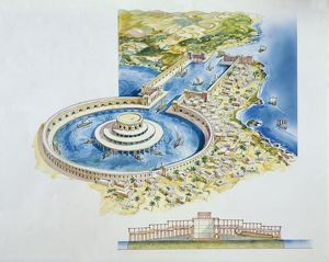Reconstruction of the two Punic ports, Tunisia, Carthage (UNESCO World Heritage List