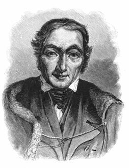 Robert Owen (1771-1858) Welsh-born British philanthropist and socialist. Bought New