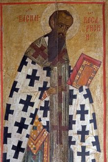 world heritage/vertical/russia karelia kizhi pogost holy icon fresco