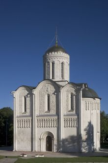 Russia, Vladimir, Cathedral of Saint Demetrius