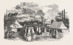 SALE OF FANCY-WORK IN THE GROUNDS OF HARLESDEN HOUSE, FOR THE BENEFIT OF THE UNITED