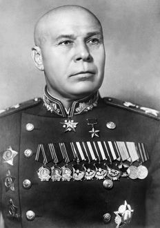 Semyon timoshenko, marshal of the soviet union, famous world war 2 soviet commander