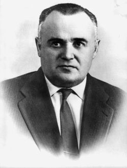 Sergei korolyov, soviet scientist and designer in the sphere of rocket building and cosmonautics