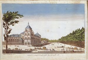 Spain, Aranjuez, Royal Palace, one of King of Spain's residences, 18th century