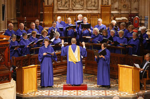St Andrew's cathedral choir