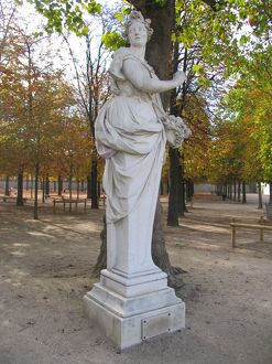 Statue of Pomona in the Tuileries Garden 2013 A.D.