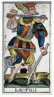 history/tarot card fool jergot tarot 17th century