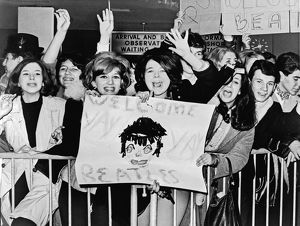 Teenagers Welcome The Beatles