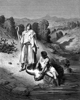 history/religion/tobias archangel raphael who helped catch fish