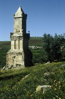 Tunisia, Dougga, Massinissa mausoleum